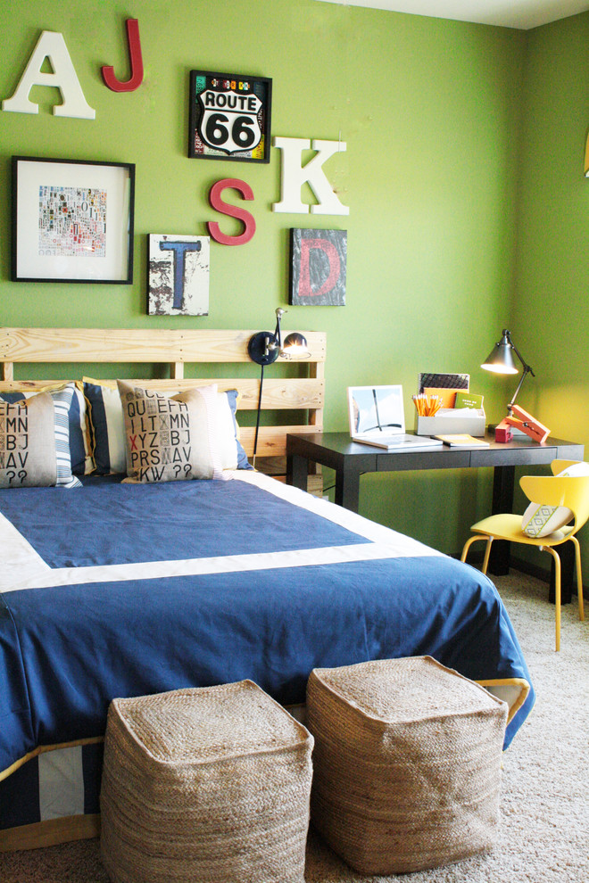 little-tikes-7-trampoline-Bedroom-Contemporary-with-area-rug-bed ...