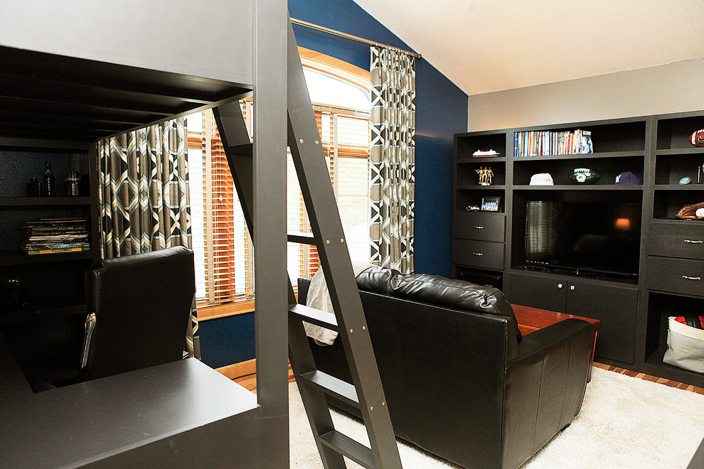 loft beds for teens spaces with boys bedroom custom window treatment loft beds teen rooms