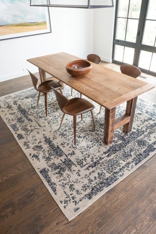 loloi rugs Dining Room Transitional with none