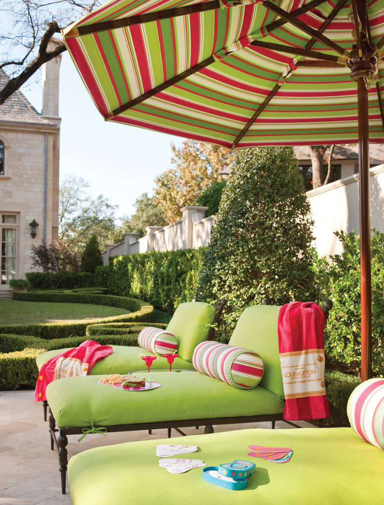 Lounge Chair Cushions Patio Traditional with Beige Stone Chimney Beige Stone Exterior Beige Stone Patio Beige Stone Siding
