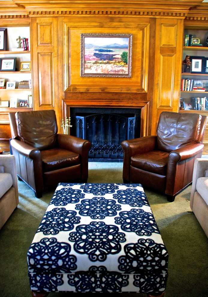 Loveseat Recliners Living Room Traditional with Bernhardt Blue Classic Fireplace Glider Chair Leather Chair Leather Recliner Lee Industries