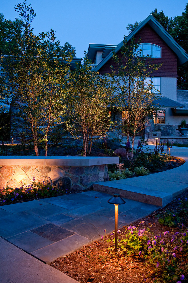 Low Voltage Landscape Lighting Kits Landscape Craftsman with Curb Appeal Garden Ideas Landscape Design Cement Cap Copper Light Garden Landscape