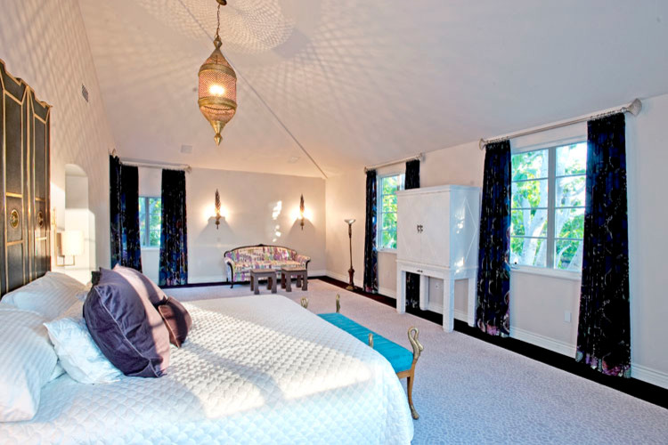 lush decor bedding Bedroom Traditional with cabinets coffered ceiling kitchen remodel