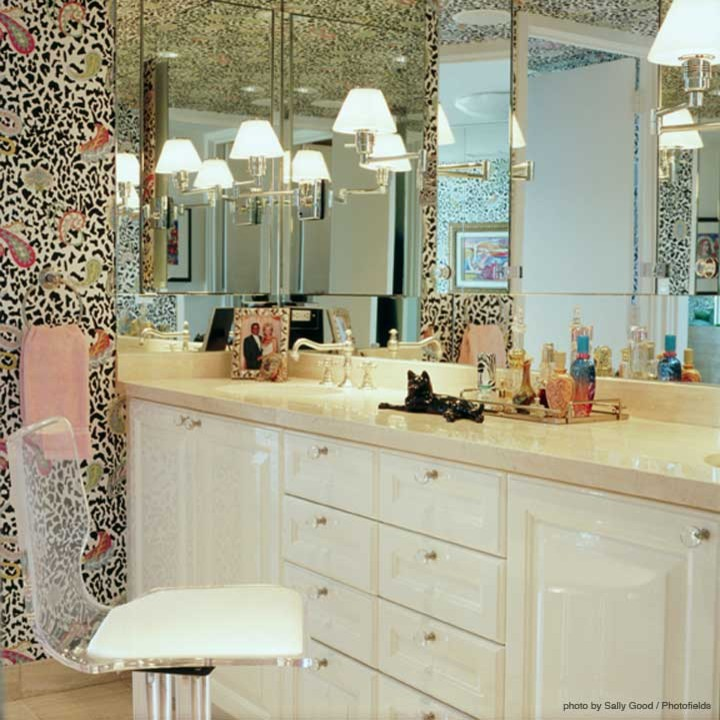 Marble Vanity Tops Bathroom Eclectic with None