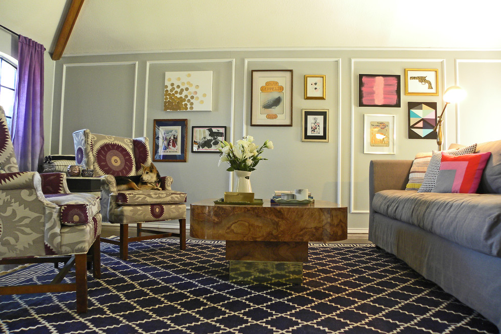 Martha Stewart Rugs Living Room Eclectic with Abstract Art Area Rug Burled Wood Chairs Coffee Table Diy Dog Gallery