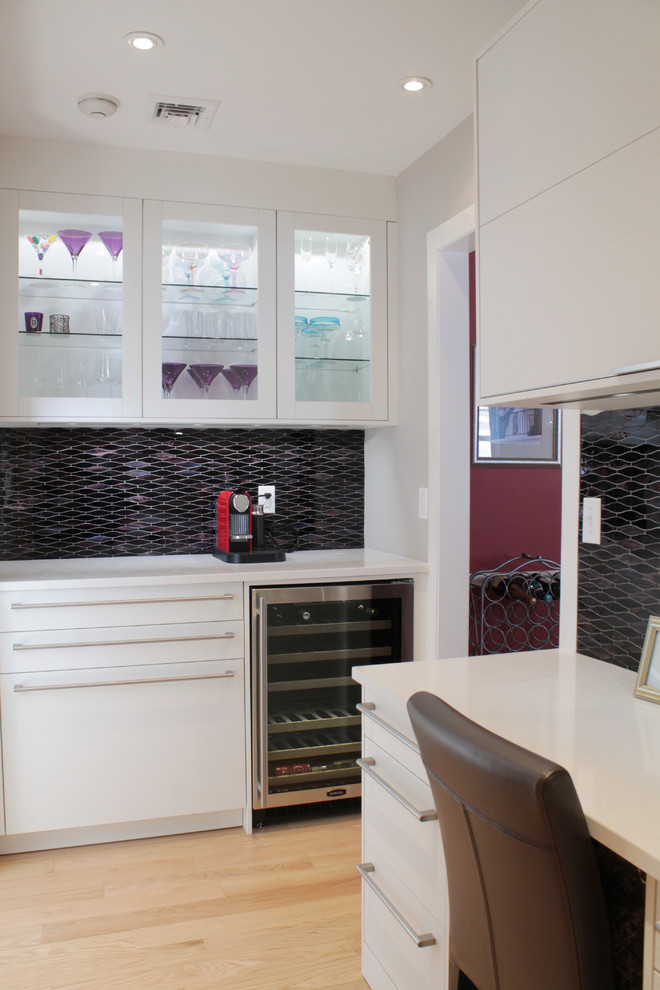 Martini Glasses Kitchen Contemporary with My Houzz