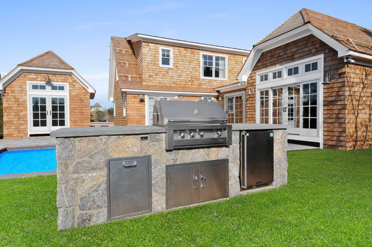 Marvel Refrigerator Exterior Beach with Hamptons Marvel Outdoor Refrigerator Out Door Kitchen Vintage Grill