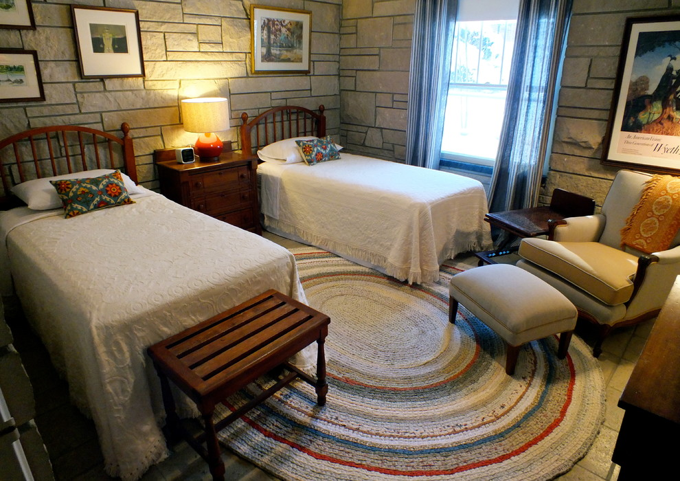 matelasse bedspread Bedroom Eclectic with Bates of Maine guest room limestone limestone walls matelass matelasse bedspreads rag