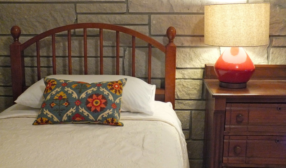 Matelasse Bedspread Bedroom Eclectic with Bates of Maine Guest Room Limestone Limestone Walls Matelass Matelasse Bedspreads Rag2