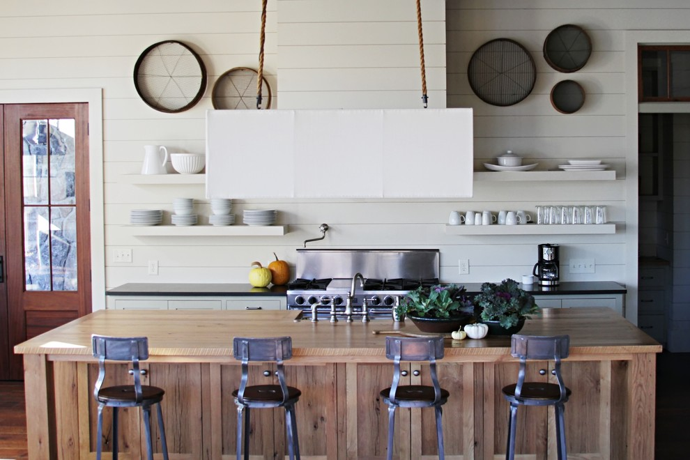Metal Bar Stool Kitchen Beach with Barstool Chandelier Kitchen Island with Cabinets Lamp Hanging From Rope Open Shelves