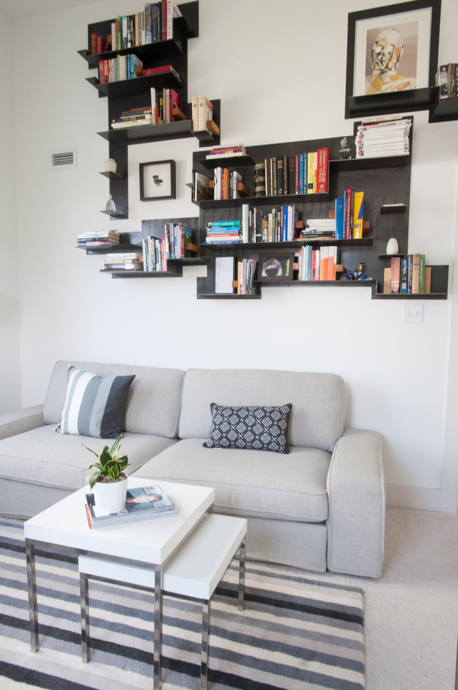 metal bookends Living Room Contemporary with CategoryLiving RoomStyleContemporaryLocationOther Metro