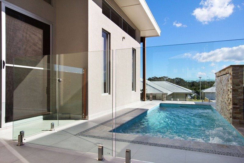 Metal Lockers Pool Eclectic with Glass Fencing Glass Patio Glass Pool Fence Glass Railing Lap Pool View