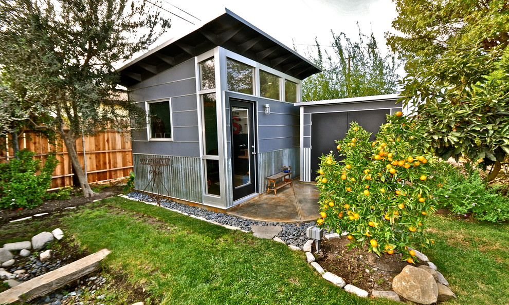 Metal Sheds for Sale Garage and Shed Contemporary with Art Studio Artist Studio Backyard Shed Clerestory Windows Contemporary Contemporary Style Decorative