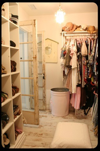 Metal Trash Cans Closet Traditional with Categoryclosetstyletraditionallocationother Metro