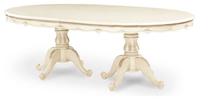 Michael Amini Spaces Contemporary with Amini Blanc Dining Table Lavelle Michael Oval Palatial