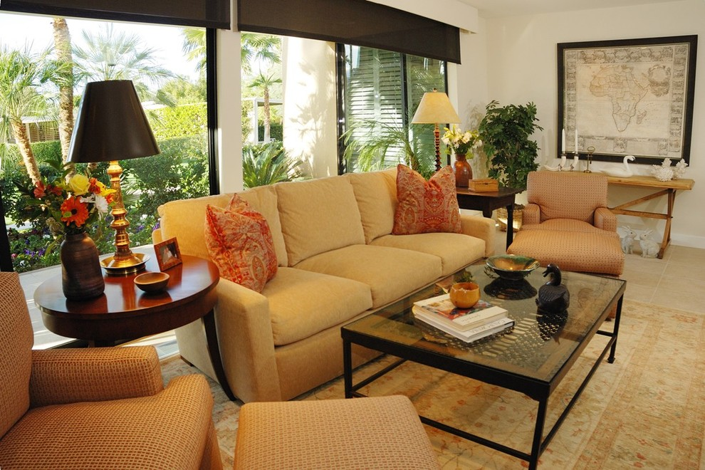 Michael Amini Furniture Family Room Traditional with None