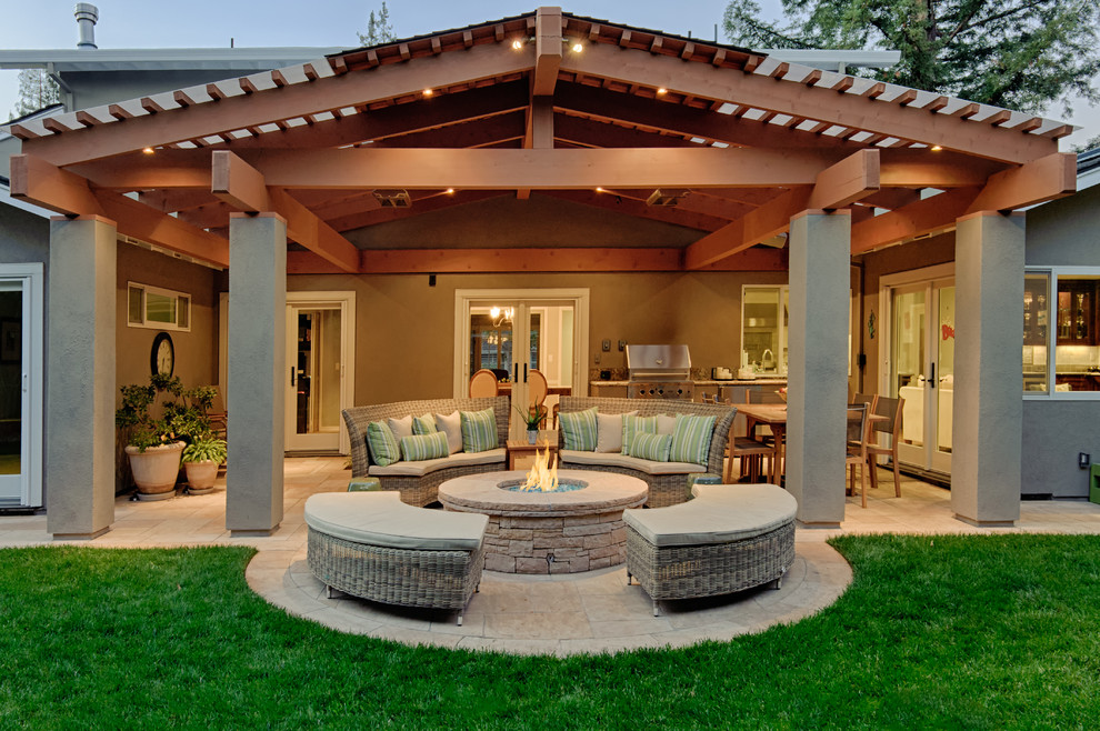 Microfiber Sheets Review Patio Traditional with Covered Patio Glass Door Grass Lawn Stone Fire Pit Stone Patio Stucco