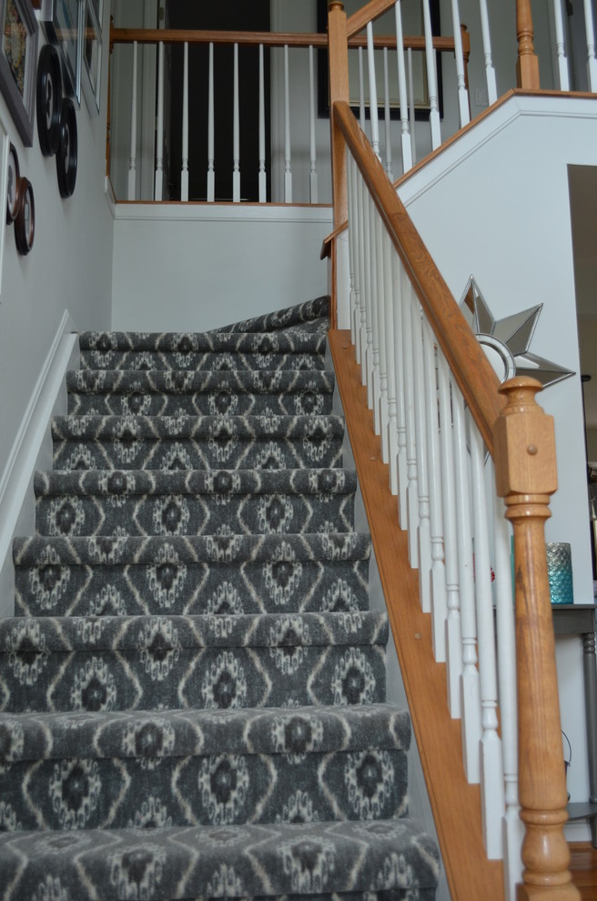 Milliken Carpet Staircase Modern with Carpet Entryway Milliken Carpet Stair Staircase