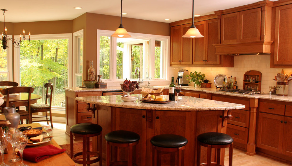 Mini Pie Pans Kitchen Traditional with Breakfast Bar Ceiling Lighting Eat in Kitchen Granite Countertops Island Kitchen Hardware