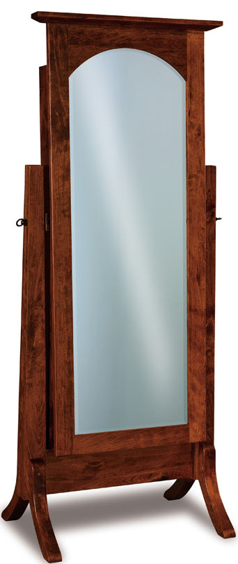 Mirrored Jewelry Armoire Bedroom Transitional with Floor Mirrors Jewelry Armoires Jewelry Holder Mirrors 1