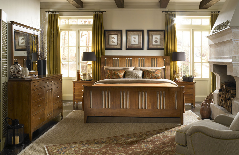 mission-style-bedroom-furniture-Bedroom-Craftsman-with-Arts ...