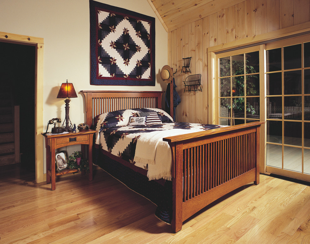 mission-style-bedroom-furniture-Bedroom-Craftsman-with-Arts-Crafts ...