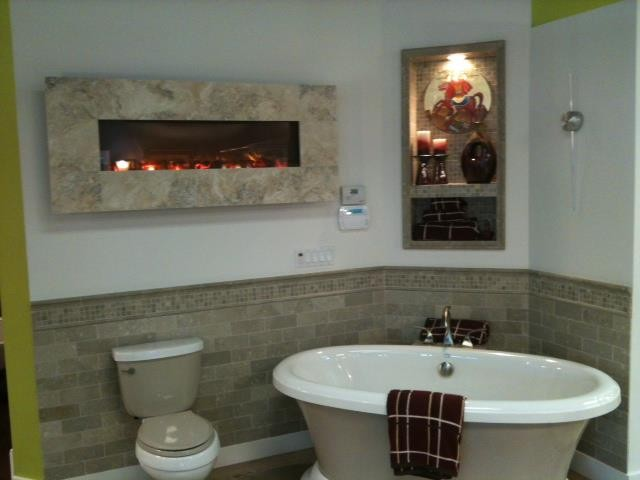 modern-electric-fireplace-Kitchen-Contemporary-with-Bosch