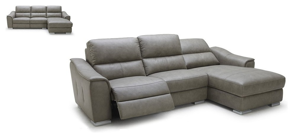 Modern Leather Sectional Spaces Modern with Leather Sectional Sofa Modern Grey Leather Sectional Sofa