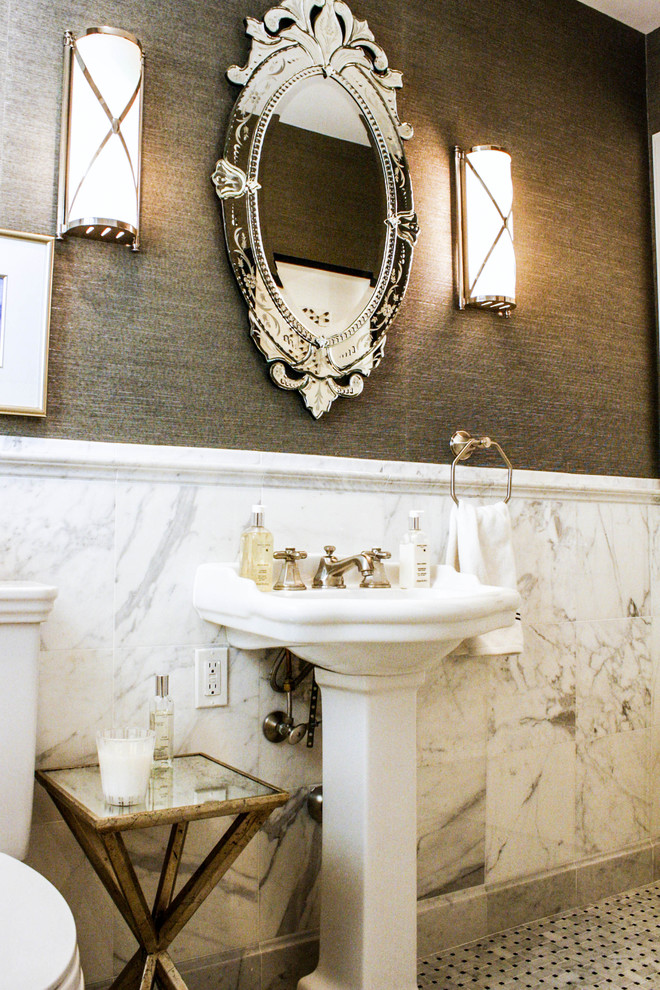 Modern Sconces Bathroom Transitional with My Houzz
