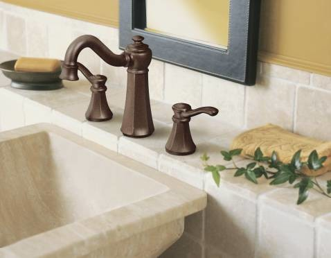 Moen Bath Faucets Spaces with Faucet Single Handle Faucet Wall Mount Faucet 2