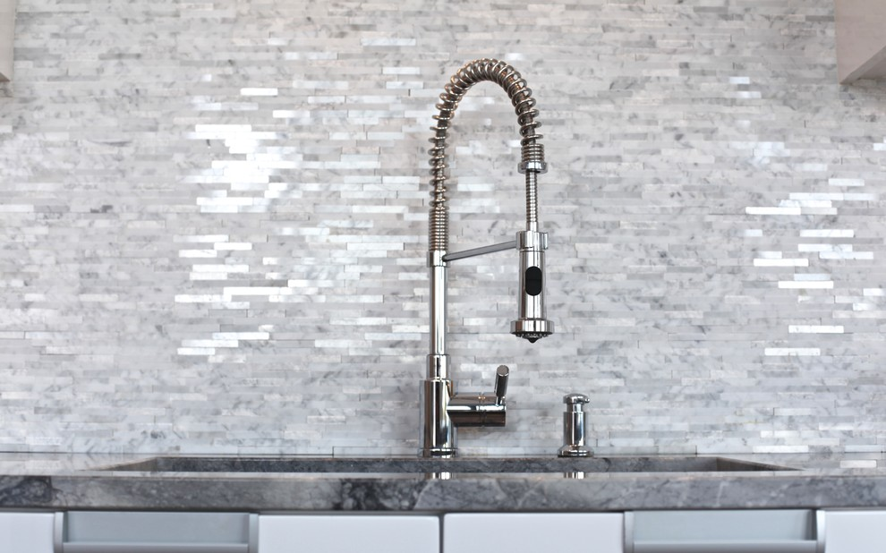 Moen Faucets Kitchen Modern with Blanco Faucet Condo Exotic Walnut Floors Le Oxxford Luxury Montreal Penthouse Pro