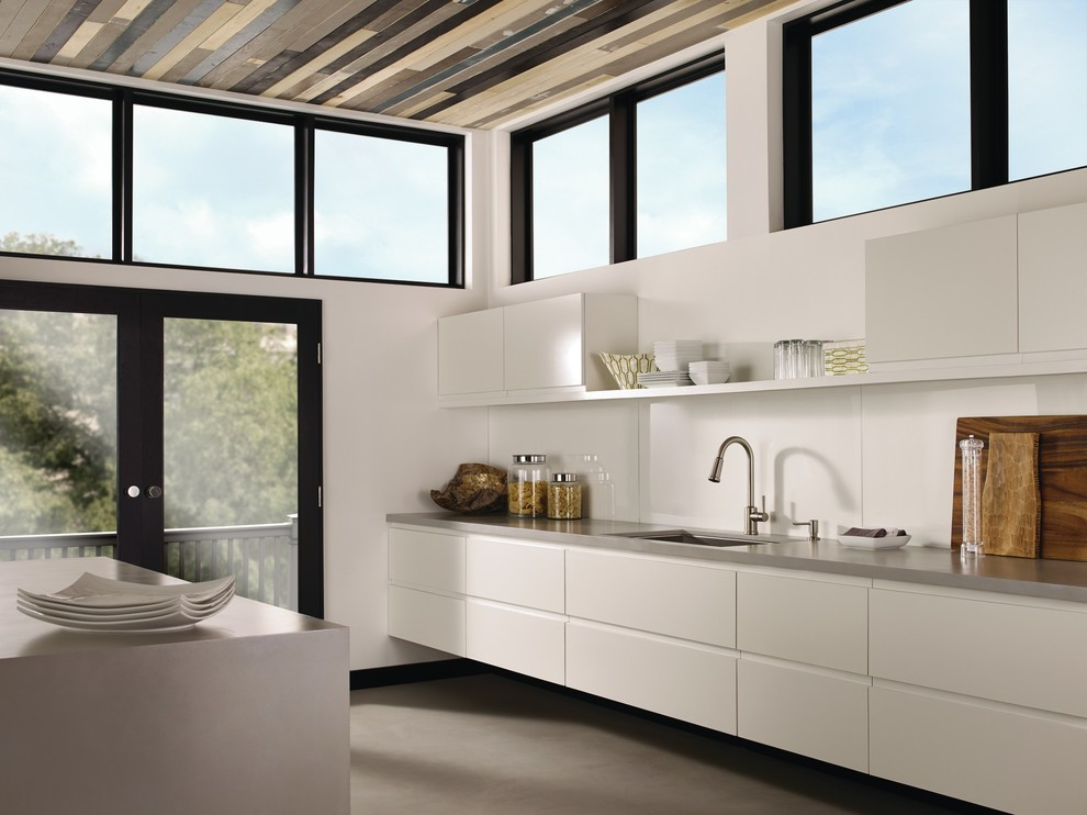 moen kitchen faucets Kitchen Contemporary with built in cabinets built in storage contemporary kitchen contemporary kitchen faucet galley