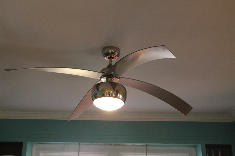 Monte Carlo Ceiling Fans Kitchen Transitional with 4vor60pnd 60 Inch Ceiling Fan Light Kit Monte Carlo Ceiling Fan Polished