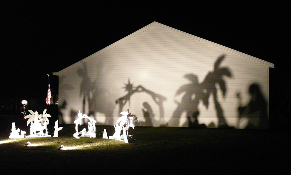 Nativity Scenes Exterior Traditional with None