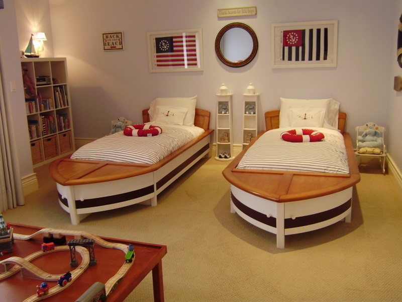 Nautical Bedding Kids with None