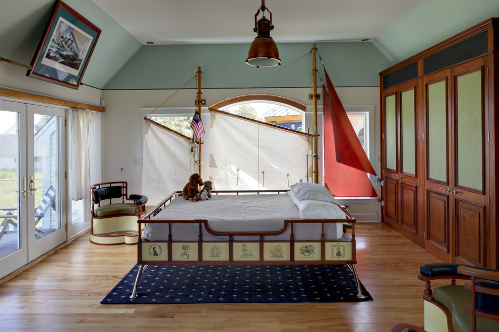 Navy Blue Area Rug Kids Eclectic with Blue and Red Built in Wooden Closet Custom Custom Bed Eclectic Design