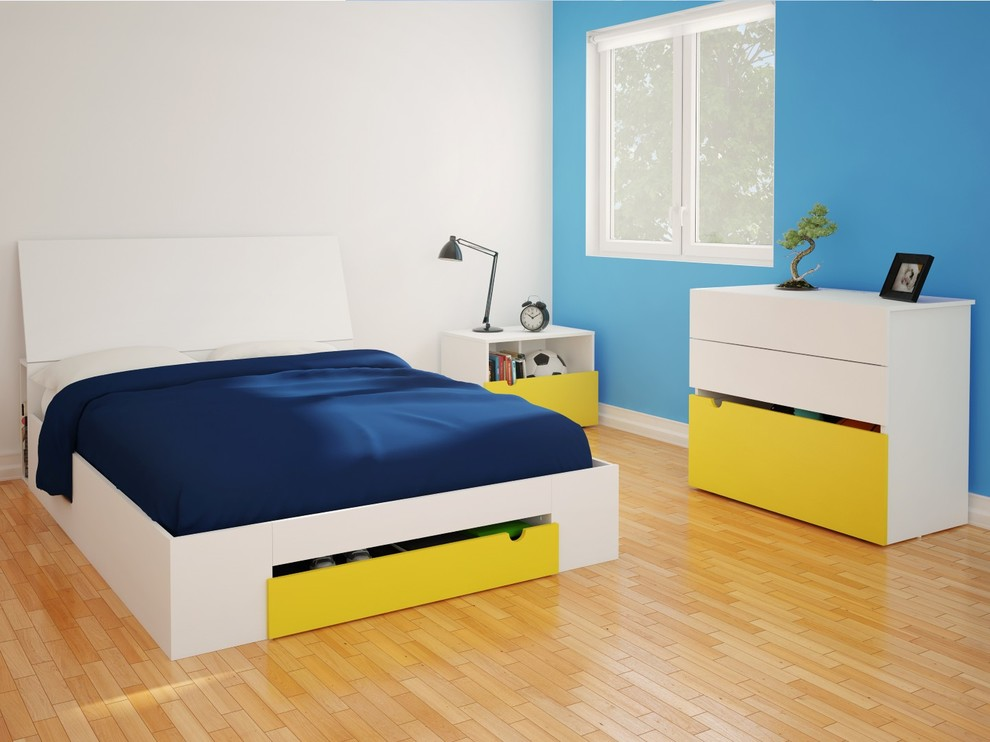 Nexera Bedroom Contemporary with Boys Bedroom Girls Bedroom Master Bedroom 3