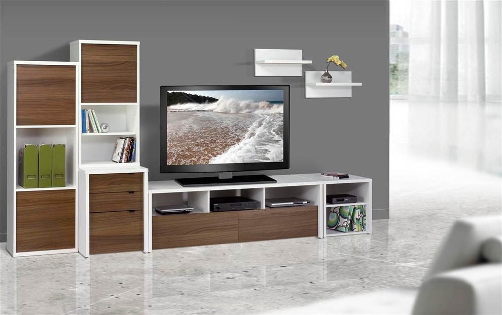 Nexera Spaces Contemporary with Contemporary Living Room Family Room Tv Stands