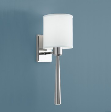 Norwell Lighting Spaces Modern with Norwell Lighting Apollo Single Led Sconce with Shade