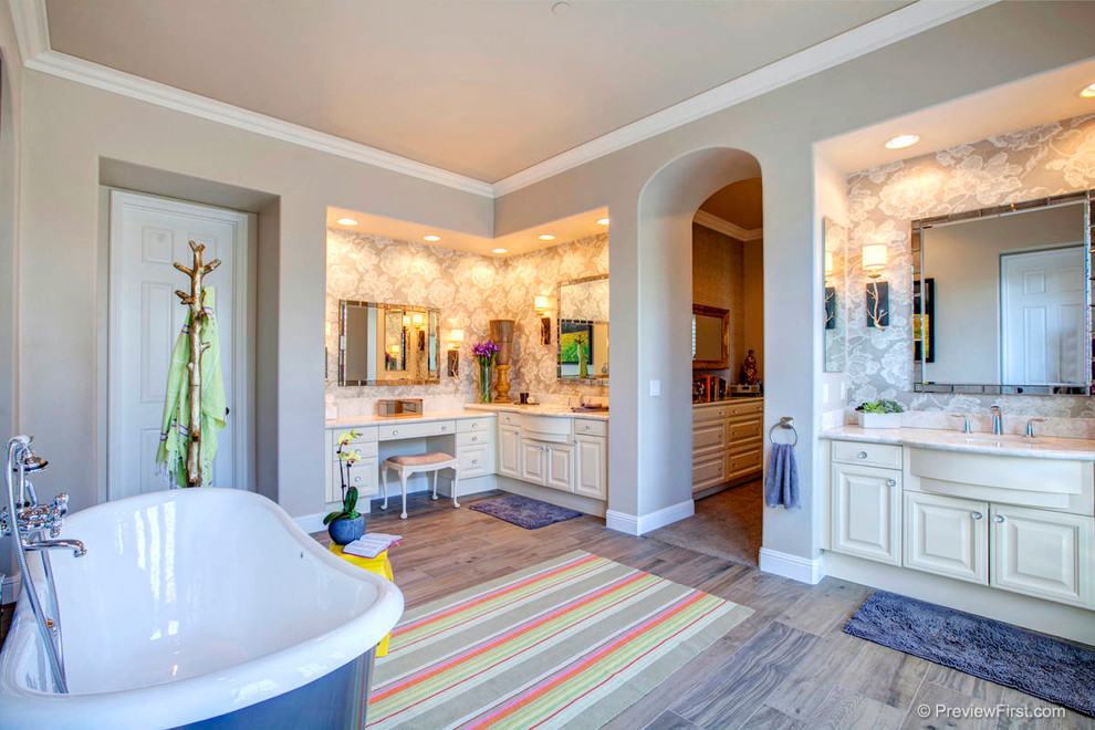 Nutone Medicine Cabinets Bathroom Transitional with Arched Doorways His and Hers Horchow Mirrors Nutone Medicine Cabinet