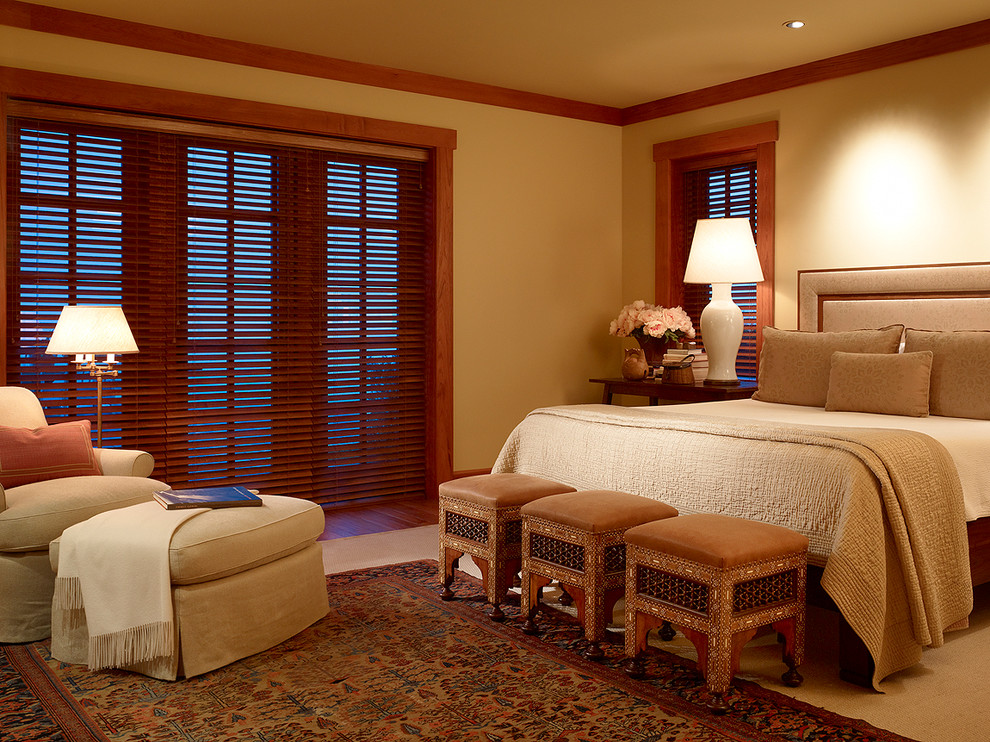 Odl Blinds Bedroom Traditional with Area Rug Bed Bedding Comfortable Traditional Contemporary Lighting Custom Lamps Custom Lighting
