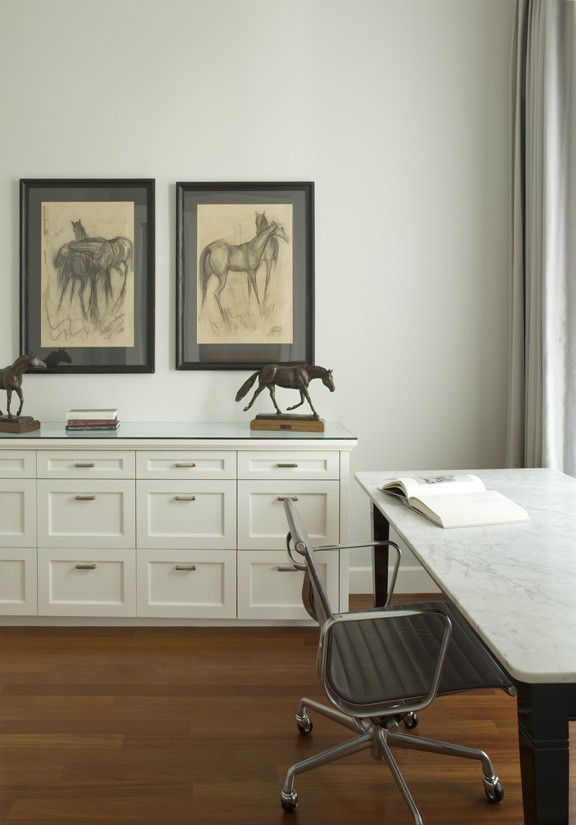 Office Credenza Spaces Traditional with Built in Bookshelf Cabinetry Chefs Kitchen Contemporary Finishes David Duncan Livingston Photography Dressing