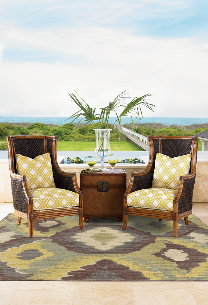 Oriental Weavers Patio Mediterranean with None