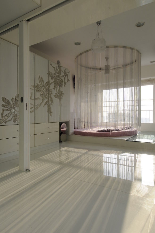 Ornament Storage Kids Contemporary with Acrylic Art Effects Back Painted Glass Beautiful Rooms Bed Spread Carpets Ceiling