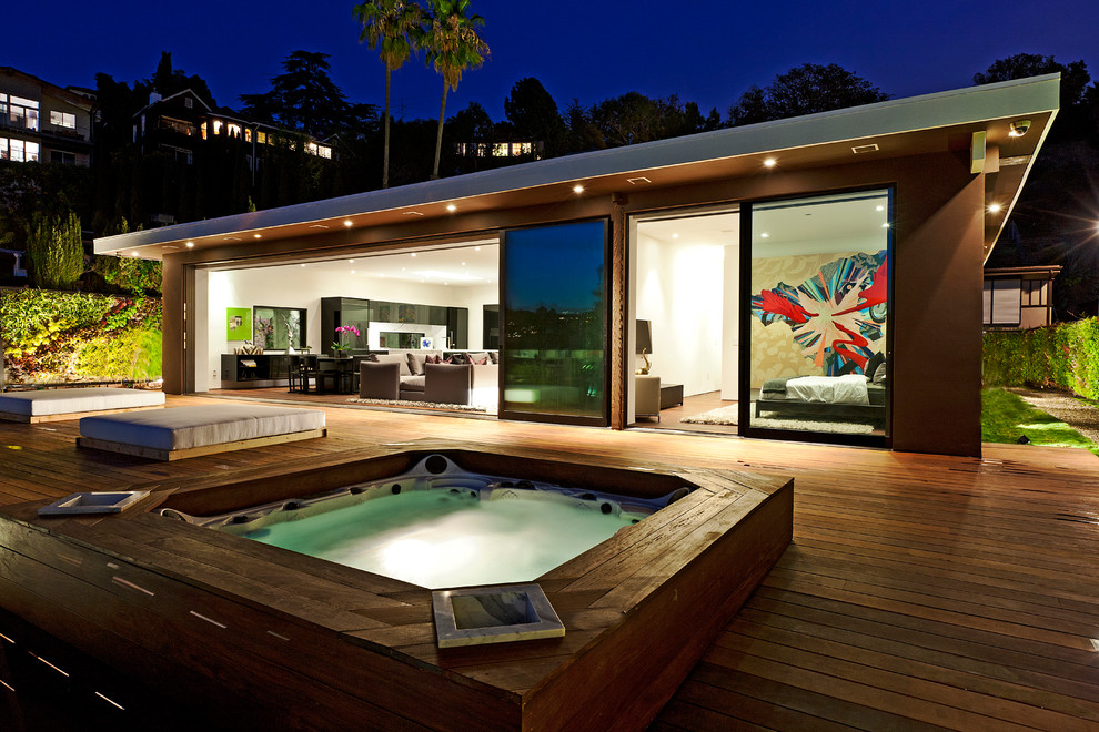 Ornament Storage Box Patio Contemporary with Contemporary Artwork Contemporary Design Day Beds Glass Wall Indoor Outdoor Living Landscape Modern