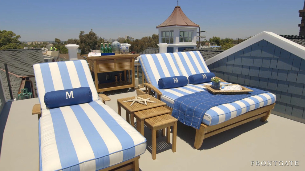 Outdoor Chaise Lounge Cushions Deck Beach with None