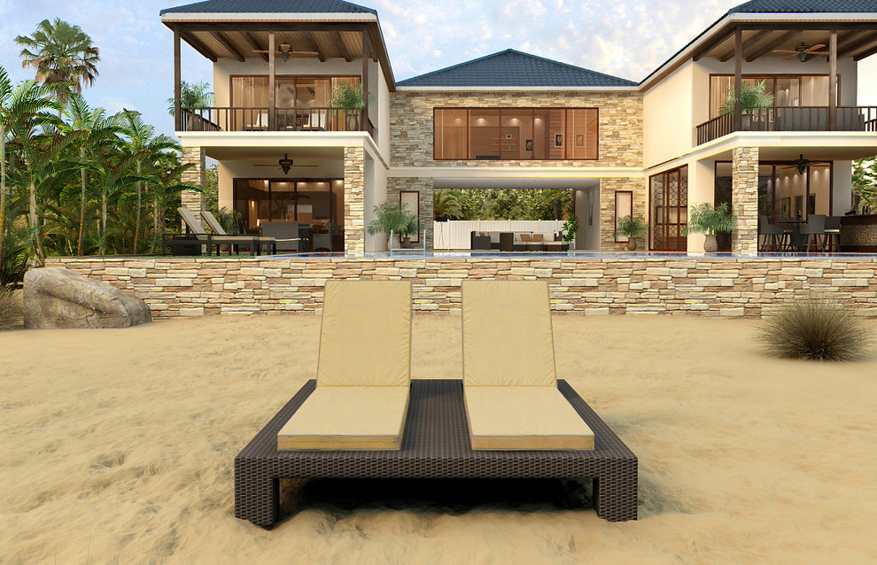 Outdoor Double Chaise Lounge Patio Contemporary with Chaise Lounge Pool Chairs Fp Ham Dacl Hampton Outdoor Wicker Double Chaise Lou Outdoor