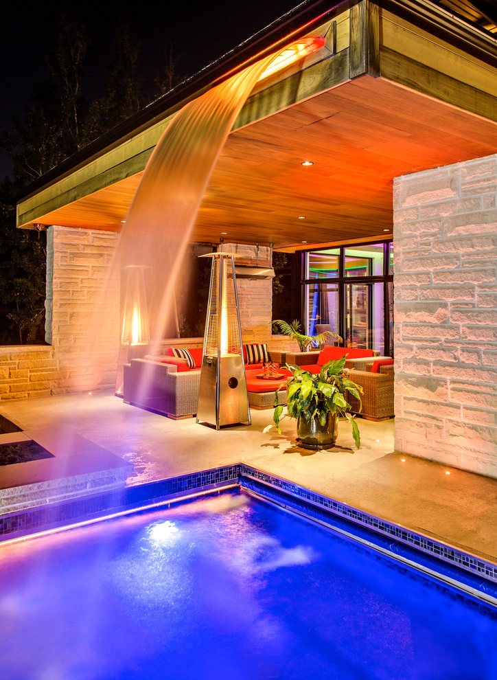 Outdoor Heat Lamp Pool Contemporary with Concrete Patio Covered Patio Heat Lamp Jardin Jardins Orange Outdoor Cushions Outdoor