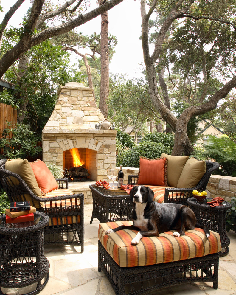 Outdoor Propane Fireplace Patio Traditional with Backyard Outdoor Outdoor Cushions Outdoor Fireplace Outdoor Furniture Patio Furniture Patio Paving