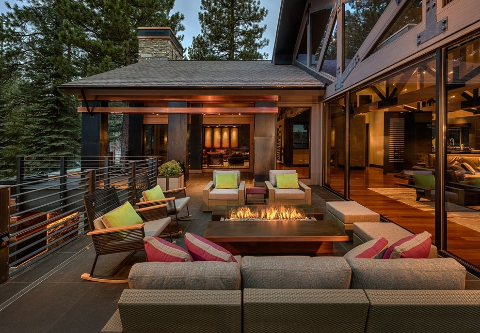 Outdoor Rockers Deck Contemporary with Beige Armchair Beige Ottoman Beige Outdoor Cushions Beige Sofa Contemporary Rock Covered